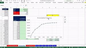 Excel 2013 Statistical Analysis 09 Cumulative Frequency
