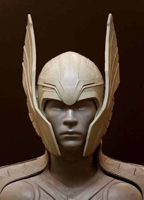 Thor Helmet 02 1444×2000 Sfx Sculpture Pinterest