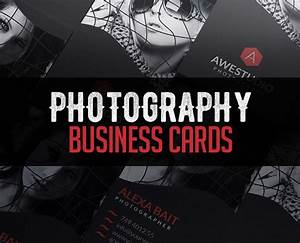 Photography Business Card Templates Design Graphic