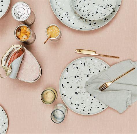 dinnerware summer melamine plates domino