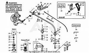 Poulan Gti18t Gas Trimmer Parts Diagram For Drive Shaft