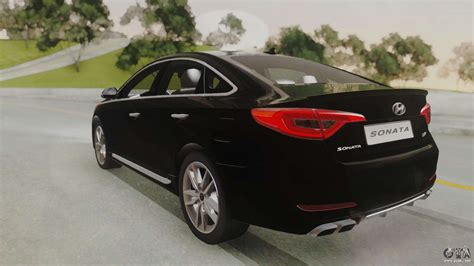 2015 Sonata Turbo by Hyundai Sonata Turbo 2 0 2015 V1 0 For Gta San Andreas