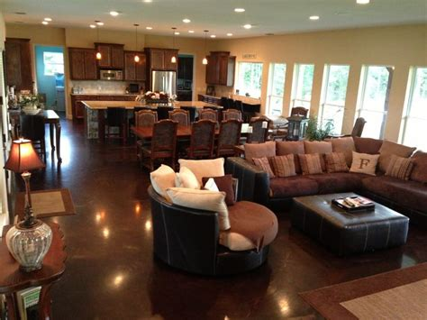 open concept living room kitchen and dining room open concept kitchen living dining great room favorite places spaces pinterest high