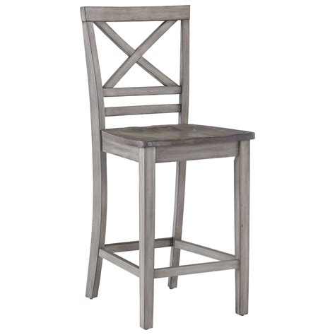 Counter Height Barstools by Standard Furniture Fairhaven Rustic Counter Height