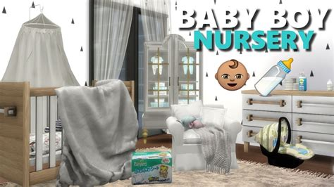 the sims 4 l nursery room finds cc list crib diapers baby wipes toy box etc youtube
