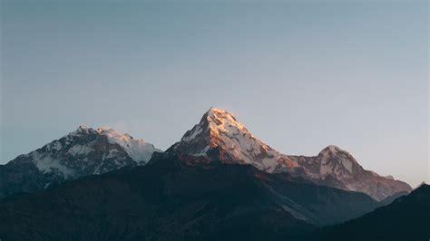 Wallpaper Annapurna Massif, Himalayas, Nepal, Mountains