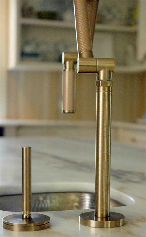 Kohler Karbon Faucet Gold by A Splash With Kohler Karbon In My Kitchen