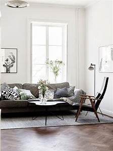 White Walls and Dark Wood (design attractor) | Interior ...
