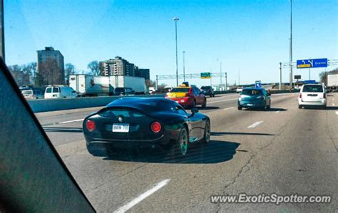 Alfa Romeo Tz3 Stradale Spotted In Toronto, Canada On 04