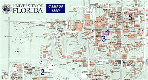 Campus Map Uf Building
