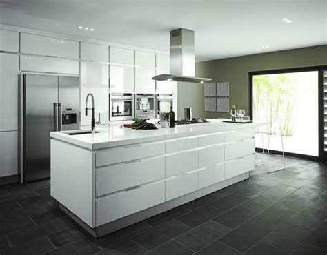 ideas de decoracion de cocinas modernas blancas