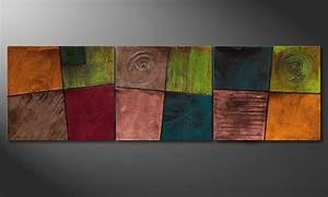 Wandbilder Für Wohnzimmer : das wohnzimmer wandbild facets of life 260x80cm wandbilder xxl ~ Sanjose-hotels-ca.com Haus und Dekorationen