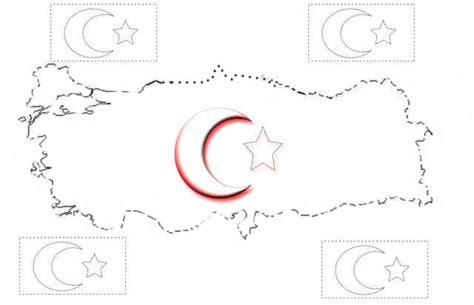 2019 Da En Iyi Turk Bayragi Boyama Sayfasi Resim Boyama