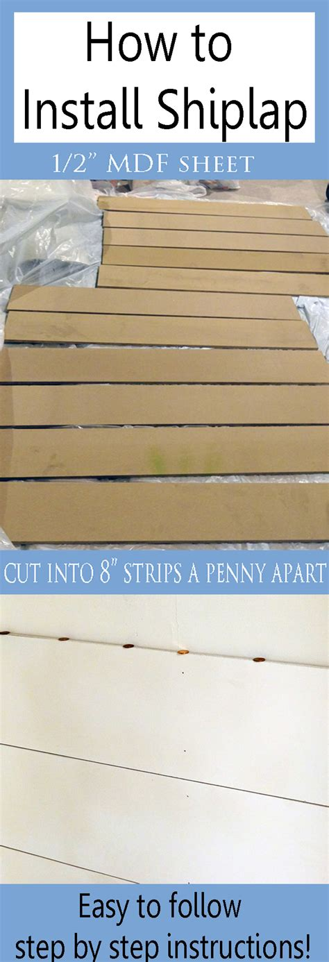 How To Install Shiplap  Provident Home Design