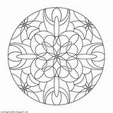 Coloring Moon Mandalas Pages Temple Mandala Drawing Therapy Christian Adult Printable Colouring Nl sketch template