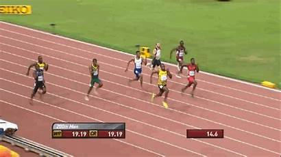 Bolt Usain Jogging Line Finish Before Starts