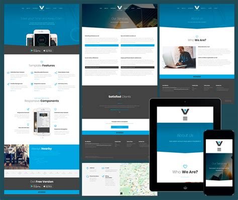 amazing responsive business website templates