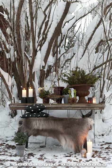 Winterdeko Für Den Garten by Sehr Sch 246 Ne Winterdeko F 252 R Den Garten So Ist Es Selbst In