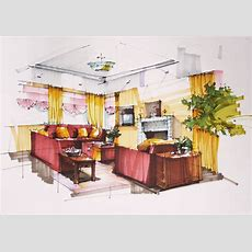 Interior Design Drawing At Getdrawingscom  Free For