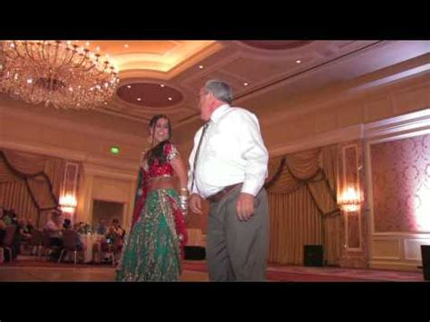 father daughter indian wedding dance  youtube