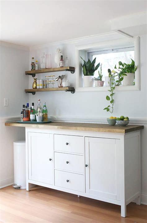 ikea hacks kitchen cabinets ikea hacks diy bar cabinet kitchenette shrimp salad 4441