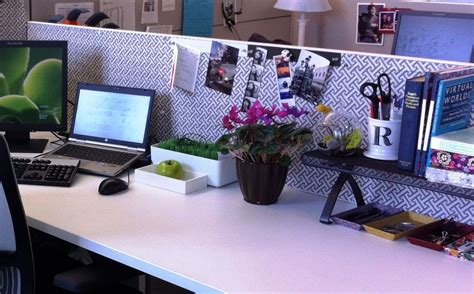 desk decoration themes in office amazing of top lovely cubicle decor ideas and fresh flowe