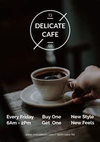 coffee posterflyer designs designcap posterflyer