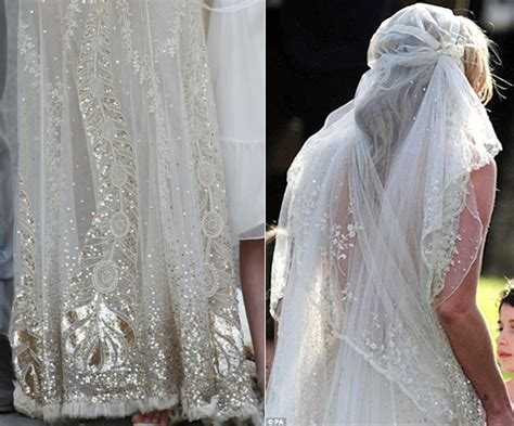 Kates Wedding Dress : Kate Moss's Vintage Inspired