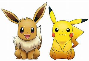Pikachu and Eevee by ryanthescooterguy on DeviantArt