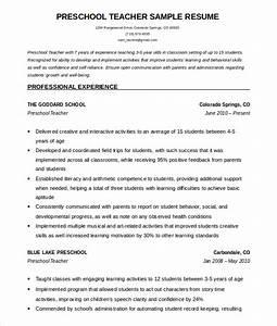 50 teacher resume templates pdf doc free premium With free sample resume for teachers