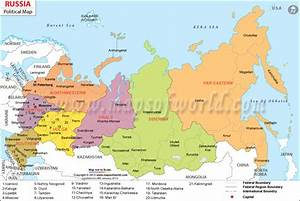 russia map image - Map Pictures