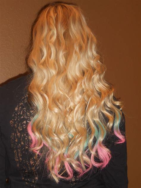 Dip Dyed Hair Fashion Hair Dyed Hair Dip Dye Hair