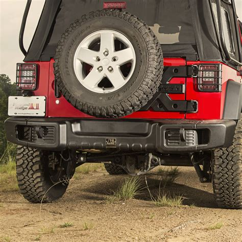 Jeep Wrangler Spartacus Front Rear Bumper Rugged Ridge