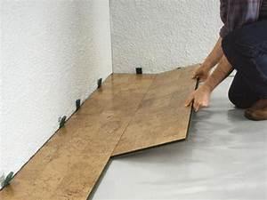 Dünne Fliesen Bauhaus : so verlegen sie korkfu b den bauhaus ~ Watch28wear.com Haus und Dekorationen
