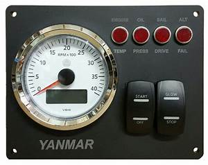 Yanmar Engine Panel