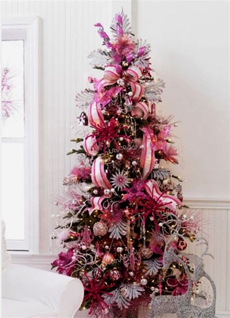 15 cute and beautiful pink christmas tree decorating ideas