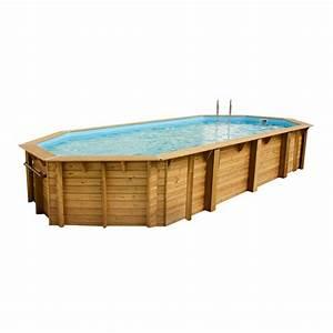 piscine bois liner gris myqtocom With prix liner piscine hors sol octogonale 5 piscine hors sol bois octogonale 355x550xh120cm azura
