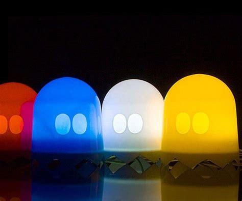 Pac-man Multi-color Ghost Lamp » Gadget Flow
