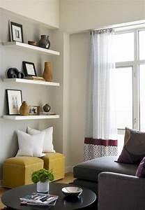Living, Room, Floating, Shelves, Ideas, 15, U2013, Decoredo