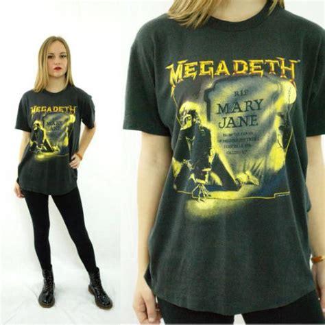 vintage  megadeth mary jane  shirt