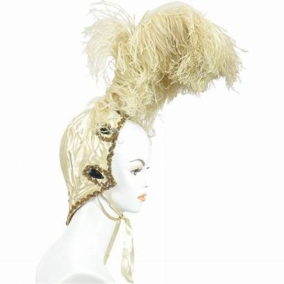 Feather Burlesque Headdress Ostrich 1920s Rubylane 30s