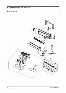 Samsung Aqv12vscn Exploded Views Parts List Service Manual