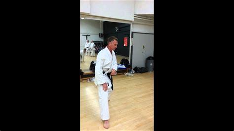 Advanced Te Ashi Do Karate Epping Youtube