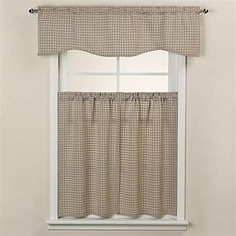 bedford rod pocket window curtain tier pair