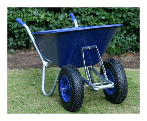 twin wheelbarrow blue cruiser    ltr