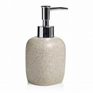 Wilko Soap Dispenser Sandstone Effect at wilko.com