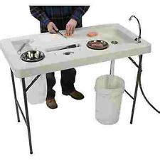 Aluminum Fish Cleaning Table With Sink by Folding Fillet Table Cleaning Gutting Fish Cing Fishing