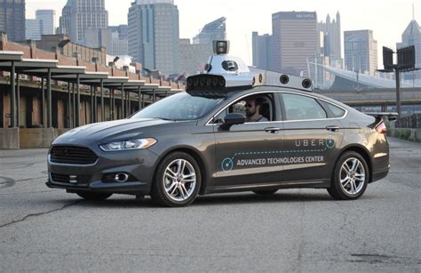 Uber Testing Driverless Taxi Technology With Ford Fusion