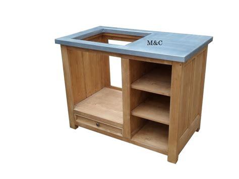 meuble cuisine sur mesure element four plaque sur mesure