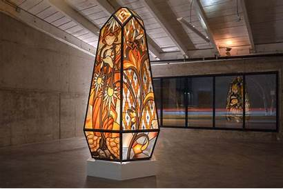 Judson James Jean Studios Glass Collaboration Los